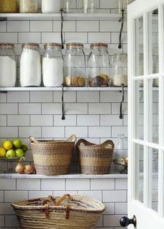 jars, baskets