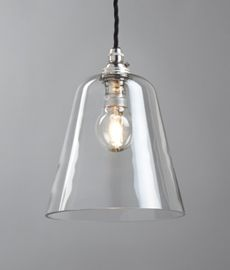 Glass bell shade, small - Hector Finch