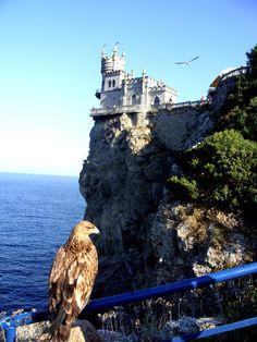 Swallow's nest, Crimea, Ukraine #Ukraine