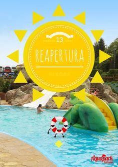 13 de junio reapertura oficial del Aquapark Cerceda, os esperamos!! ;)
