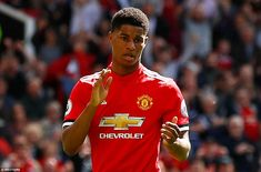 Marcus Rashford scored the only goal of Manchester United's win over Watford but his celeb...