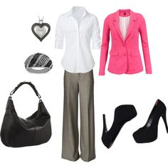 Office Wear, created by kdavis97.polyvore.com