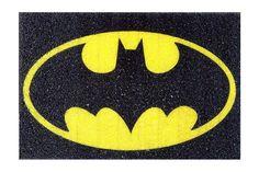 tapete capacho divertido batman