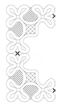 Encajeras la Hilandera: PICADO PAÑUELO ARRAS Cutwork Embroidery, Hand Embroidery Designs, Machine Embroidery, Crochet Unique, Parchment Design, Bobbin Lacemaking, Parchment Cards, Bobbin Lace Patterns, Rug Hooking Patterns