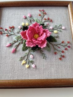 Wonderful Ribbon Embroidery Flowers by Hand Ideas. Enchanting Ribbon Embroidery Flowers by Hand Ideas. Hand Embroidery Flowers, Flower Embroidery Designs, Creative Embroidery, Hand Embroidery Patterns, Vintage Embroidery, Embroidery Kits, Ribbon Embroidery, Cross Stitch Embroidery, Embroidery Patches