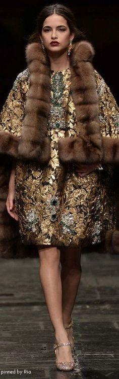 ♡Dolce & Gabbana Alta Moda 2016