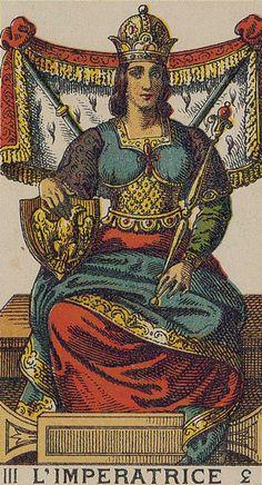 The Empress - Ancient Italian Tarot