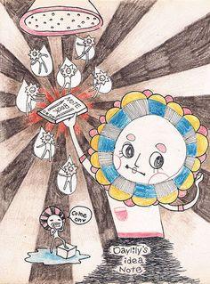 靈感筆記本  #illustration #daylilyart #插畫 #玳力力