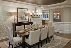 Maggie this is wainscoting but imagine picture moulding in the areas where i drew above the sofa...