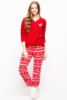 Ev Giyim - Polar Pijama Takımı