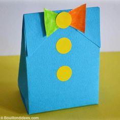 Grâce à ce DIY spécial Fête des Pères, les enfants pourront réaliser leur propre pochette cadeau ! Après l'avoir rempli de quelques gourmandises ou d'un joli cadeau fait-main, elle sera prête à être offerte.
