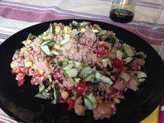 Buon giorno, buon martedì Bimbyni e Bimbyne!!! :D                            Cous Cous Estivo...!!! :D   Provate questa ricetta e ditemi se vi piace!!! :D    http://www.bimby-ricette.it/2016/07/senza-bimby-cous-cous-estivo.html