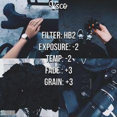 VSCO Filter // Instagram