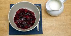 Rote Grütze - Rezept-Tipp - Wie man sommerliche Garten-Früchte schnell auf den Teller bekommt, verrät die TK.