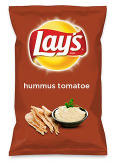 Wouldn't hummus tomatoe be yummy as a chip? Lay's Do Us A Flavor is back, and the search is on for the yummiest flavor idea. Create a flavor, choose a chip and you could win $1 million! https://www.dousaflavor.com See Rules.