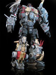 "Custom Transformers Dinobot Combiner ""Extinction."""