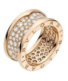 engagement rings your symble of heart beat bvlgari gold ring and diamonds b