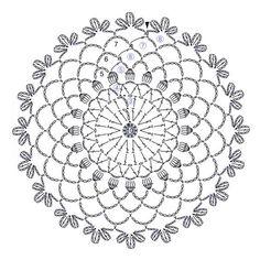 Mini Trellis Doily pattern by Adrienne R. Crochet Doily Diagram, Crochet Doily Patterns, Freeform Crochet, Crochet Designs, Crochet Doilies, Crochet Flowers, Crochet Stitches, Crochet Pillow, Mandala Crochet