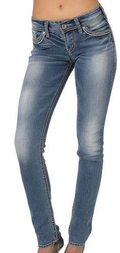 c48c60cd 22 Best Silver Jeans Co. Denim images | Silver jeans, Shoe boutique ...