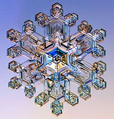 {snow} Snow crystal © Kenneth Libbrecht (Caltech)