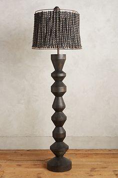 Hand-Beaded Vara Floor Lamp Ensemble #anthropologie