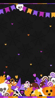 Halloween Wallpaper Iphone, Holiday Wallpaper, Winter Wallpaper, Halloween Backgrounds, Cool Halloween Costumes, Halloween Crafts, Halloween Makeup, Cellphone Wallpaper, Iphone Wallpaper