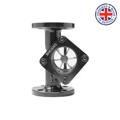 Rhodes 408 Sight Glass with Spinner - UK Manufactured