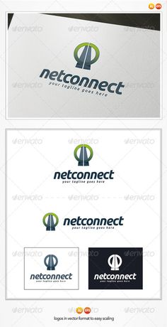 Net Connect Logo  #GraphicRiver         Net Connect Logo Template  This is a great logo template for media, business, system company.  – Vector 100% – Editable and Resizable  – CMYK – Print and Web Ready | 300 DPI – Easy to editable color and text  	 Pack included:   Ai. File – EPS10. File CMYK | Print Ready  100% vector | 300 DPI  3 Versions: color, white and black  Easy to edit color and text  	 Font Used:   Font: Ubuntu  	 Please rate, if you like it ! Thank you!     Created: 7August13…