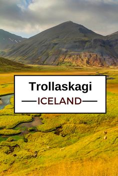 Travel Guide Iceland : Plan your visit to the Trollaskagi peninsula and discover its incredible landscapes - more photos in the post