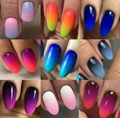 Funky Nail Art, Funky Nails, Pretty Nail Art, Trendy Nails, Cute Nails, Fingernails Painted, Gel Nails, Acrylic Nail Designs, Nail Art Designs