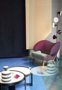 Raf Simons for Kvadrat #design #pin_it @mundodascasas See more here: www.mundodascasas.com.br
