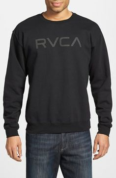 53ef80dec5708 RVCA Fleece Lined Sweatshirt Sweatshirt