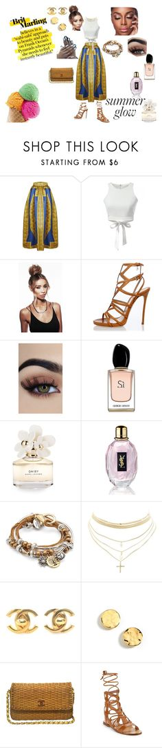 """Chill vibes"" by juanitamarion on Polyvore featuring Dsquared2, Armani Beauty, Marc Jacobs, Yves Saint Laurent, Lizzy James, Charlotte Russe, Chanel, Kenneth Cole and Sigerson Morrison"