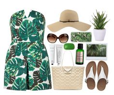 """Fashion day at the beach"" by the-little-smile ❤ liked on Polyvore featuring Topshop, FitFlop, Coal, Tory Burch, Lux-Art Silks, Byredo, Rodin Olio Lusso, Marc by Marc Jacobs, Casetify and Sisley"