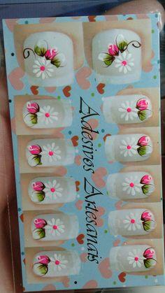 Manicures, Nail Stickers, Nail Art Designs, Nail Arts, Beauty Makeup, Nail Designs, Fingernail Designs, Nail Salons, Manicure