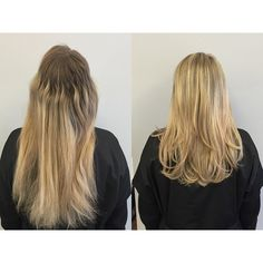 Before and After color and cut by the one and only @jen_georgesalondc #georgesalondc #dchair #hairdc #dcsalon #georgetownsalon #georgetowngorgeous #dcstyle #dcstylist #hairsalon #beautifulhair #haircolor #haircolorist #haircolors #haircoloring #highlights #highlightsandlowlights #blonde #blondehair #blondehairdontcare #blondeshavemorefun #blondbombshell