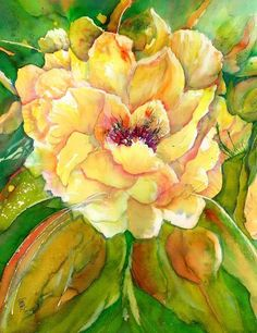 Yellow Peony Flowers Beach Towel for Sale by Sabina Von Arx Yellow Peony Flowers Beach Towel for Sale by Sabina Von Arx Heidi Heald heidiheald oilpaint Yellow Peony Flowers beach towel nbsp hellip Painting peony Watercolor Negative Painting, Peony Painting, Watercolor Paintings, Original Paintings, Watercolor Peony, Watercolor Canvas, Flower Paintings, Canvas Paintings, Canvas Art