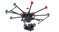 Shooting with drone, professional aerial shooting drones