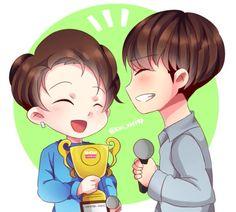 Gyuhao + the trophy fanart