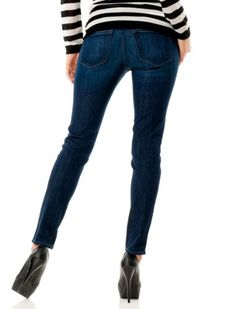 A Pea in the Pod: A Pea In The Pod Jeans Secret Fit Belly(tm) 5 Pocket Skinny Leg Maternity Jeans $85.00