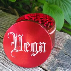 This Red Custom Grinder is our 55mm Multi-Tooth model. This grinder is laser engraved with a customer selected message. If you are interested in creating your own Custom Grinder with ANY image, photo, artwork or text visit us at: www.customherbgrinders.com