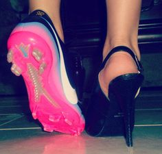those are some freakin sweet cleats, just sayin... but I would so rather wear cleats than heels