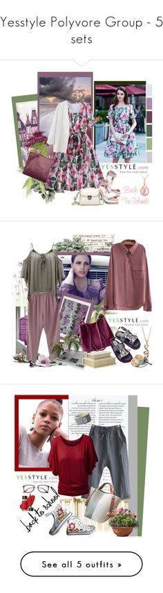 """""""Yesstyle Polyvore Group - 5 sets"""" by carola-corana ❤ liked on Polyvore featuring Rosanna, BeiBaoBao, BackToSchool, outfit, yesstyle, Horg, Italina, HVBAO, Ranche and Emini House"""