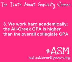 Academic Excellence - A key to a sorority's success!