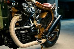 HONDA CX 500 CAFE RACER || NationalTraveller.com