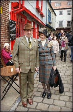 Terrific in Tweed | Flickr - Photo Sharing! At the Whitby Goth Weekend