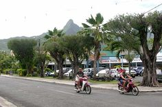 Rarotonga capital, Avarua, Cook Islands, South Pacific