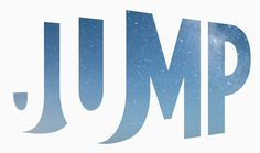 Jump logo –great use of positive and negative space in a unique, interesting design