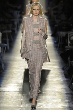 Karl Lagerfeld yesterday held the Chanel Haute Couture Fall 2012 collection at he Grand Palais Paris, France.