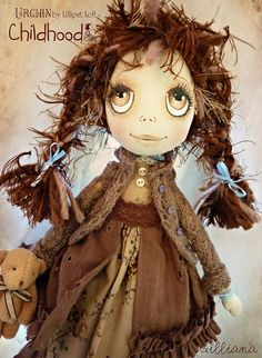 OOAK Art Doll Urchin Gilliana